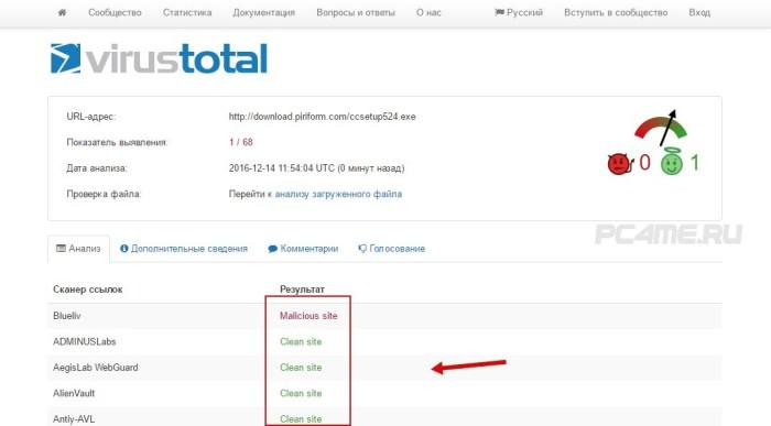 сканирование файлов на вирусы онлайн