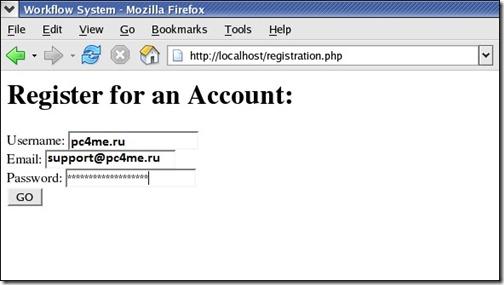 автоматический ввод данных браузером