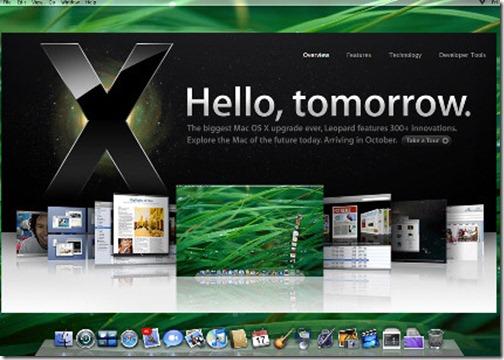 MAC OS X история