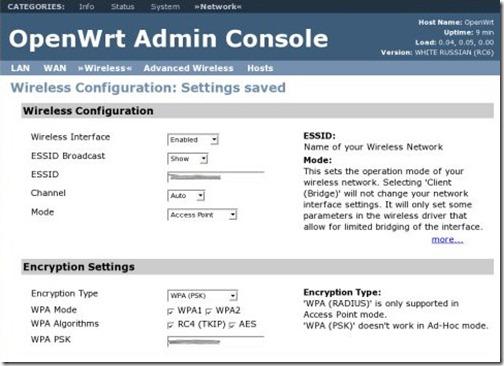 перепрошивка OpenWRT