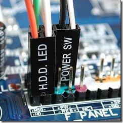 подклчение кнопок передней панели
