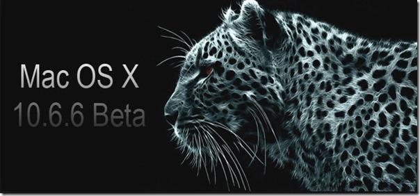 MAC OS X 10.6.6