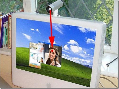 размещение веб-камеры