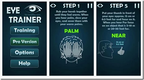 Eye Trainer – 12 Eye Exercises