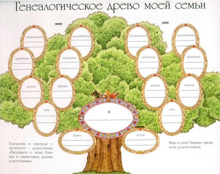 генеалогического древа