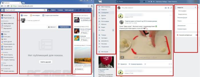 ВК (Вконтакте) как аналог Фейсбук