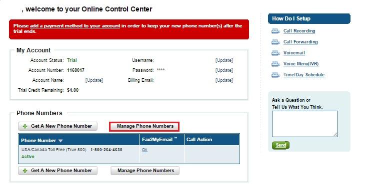 Виртуальный телефонный номер смс