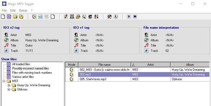 magic mp3 tagger как пользоваться